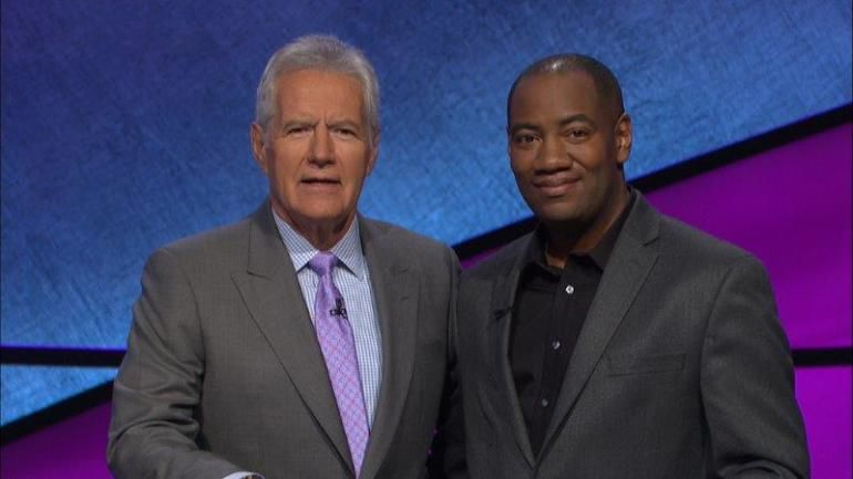 Reigning Jeopardy Champ Gilbert Collins Cornered at Princeton's Ivy Inn