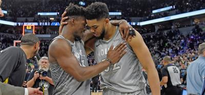 Timberwolves return to the NBA playoffs