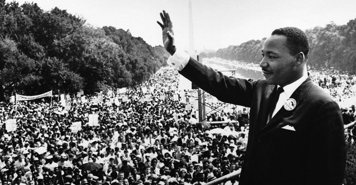 the Rev Martin Luther King Jr