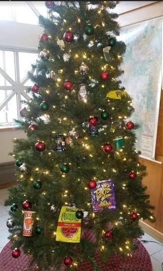 Racist Christmas Tree