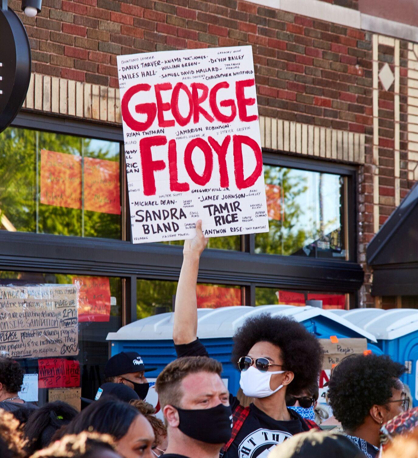 George Floyd is not on trial