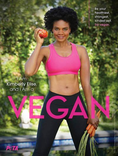 Minneapolis native stars in PETA radio spot: Kimberly Elise advocates going vegan this new year