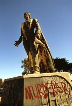 Christopher Columbus statute