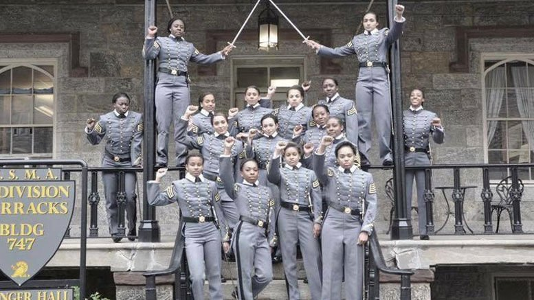 West Point correct not to punish fist-raising Black women