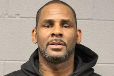 R. Kelly mug shot
