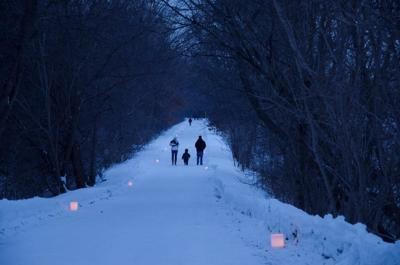 A winter walk for better health