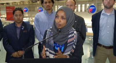 Ilhan Omar at MSP