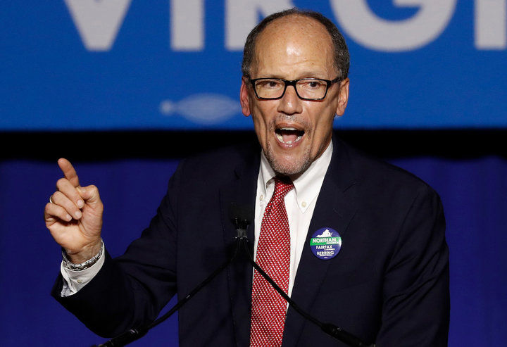 Democratic National Committee Chairman Perez