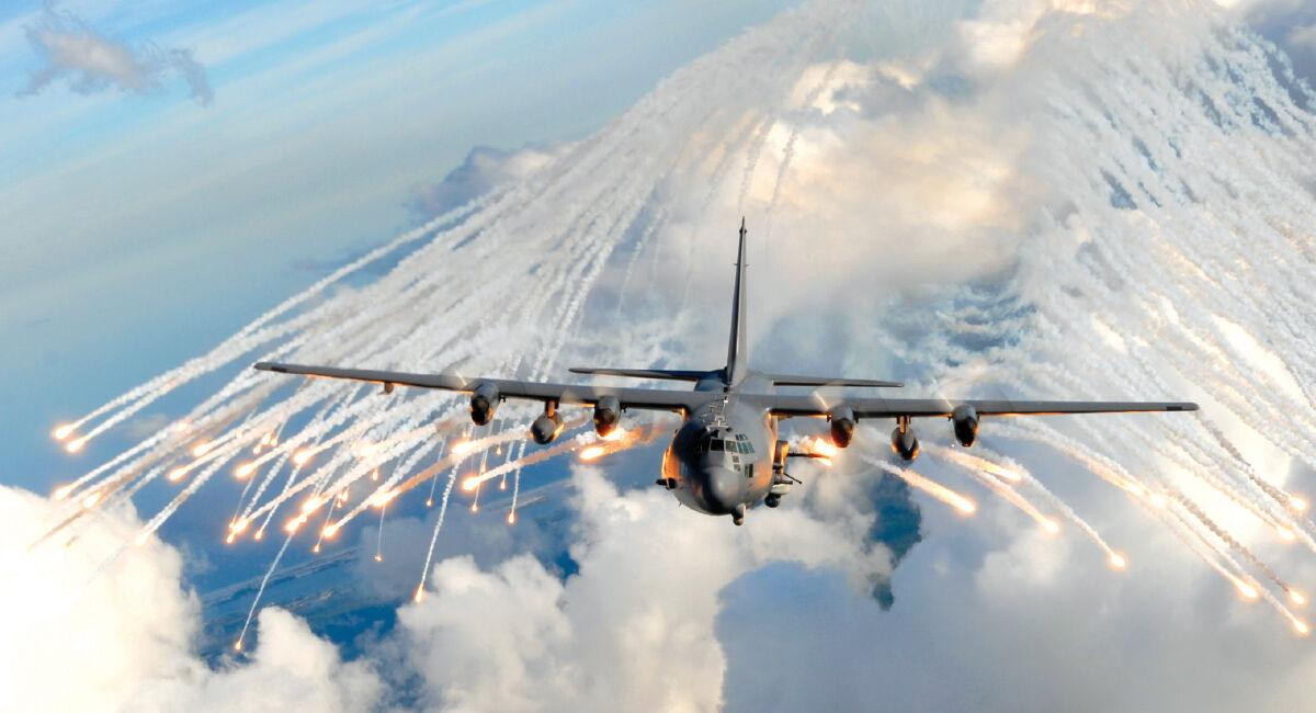 EAA Plane firing