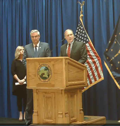 Governor announcement