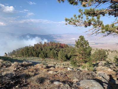 Glacier Fire - update July 15