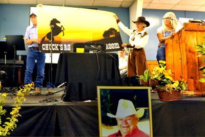Fair board dedicates The Patio Building to Chuck Kilpatrick