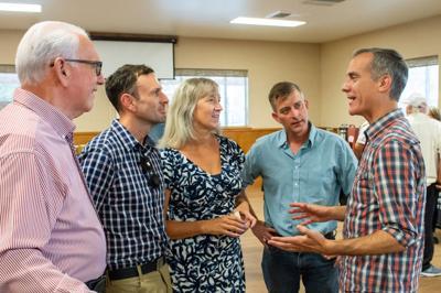 LA mayor visits Owens Valley community leaders