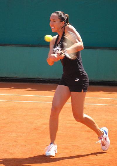 Jelena Janković at 2009 Roland Garros