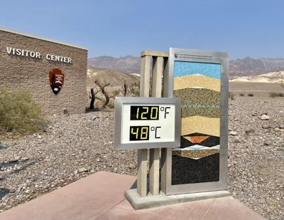 Death Valley thermometer