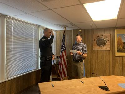 New Bishop police chief sworn in