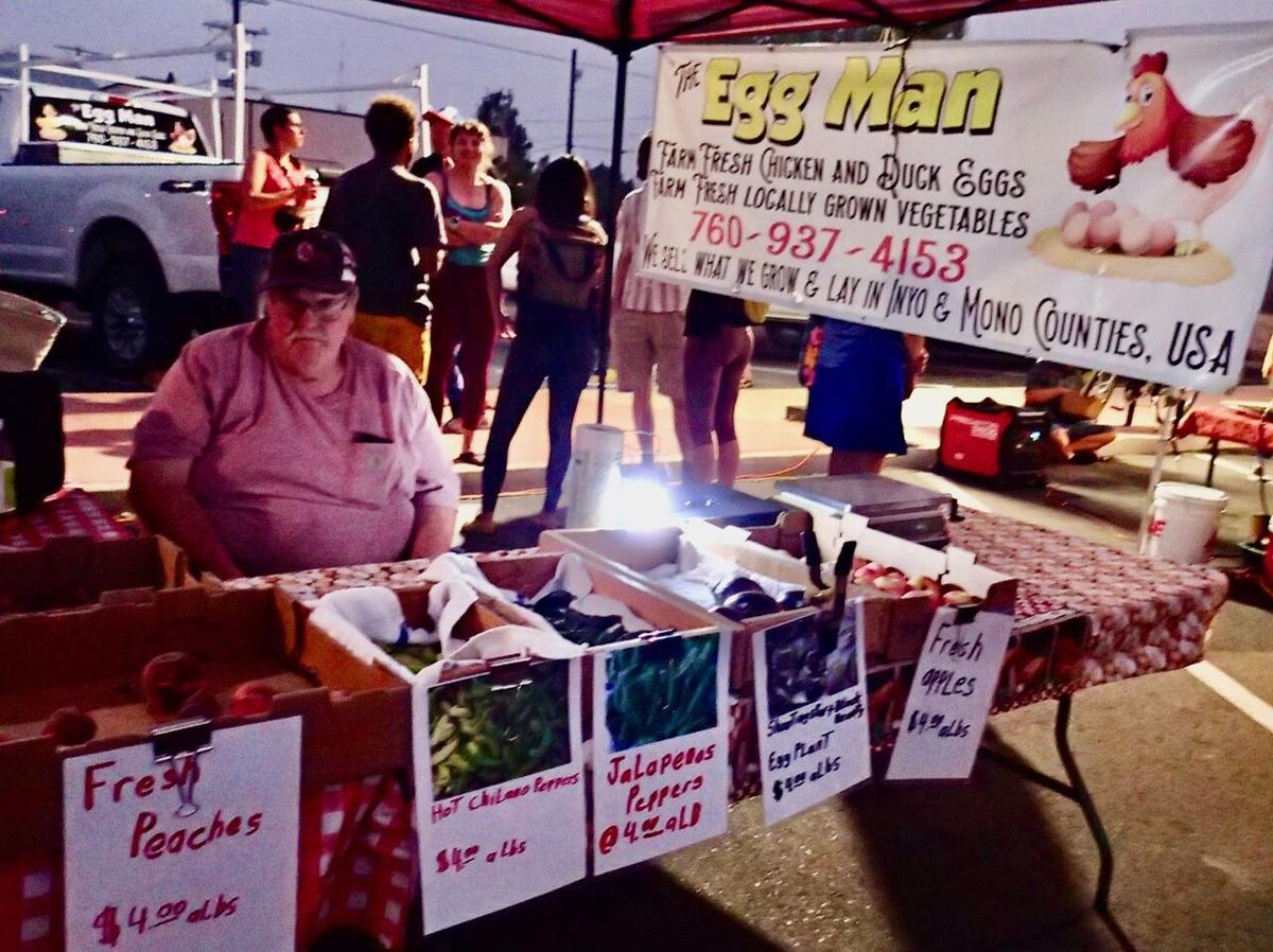 First Friday Night Market Brett Jordan with his homegrown produce and eggs.jpeg
