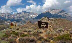 Inyo National Forest sign