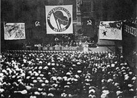 The 1932 Unity Congress of Antifaschistische Aktion