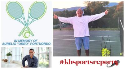 #kbsportsreport Tennis with a cause honors Oreo Portuondo
