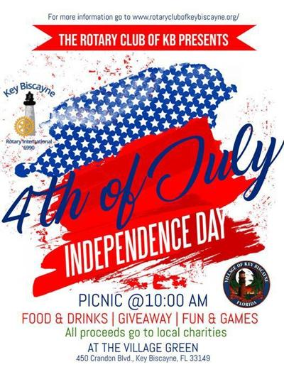 Key Biscayne Rotary 4th of July picnic