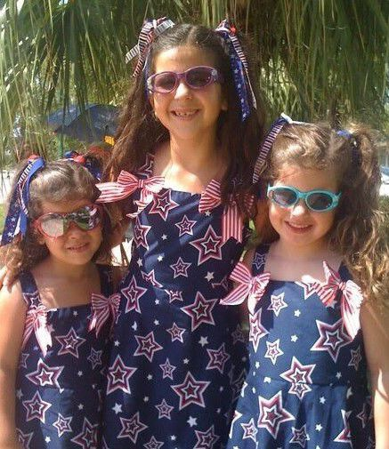 The Peña sisters in the early days: Olivia, Isa, and Alessandra.