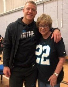 grandmother of NFL star, hits London for gam