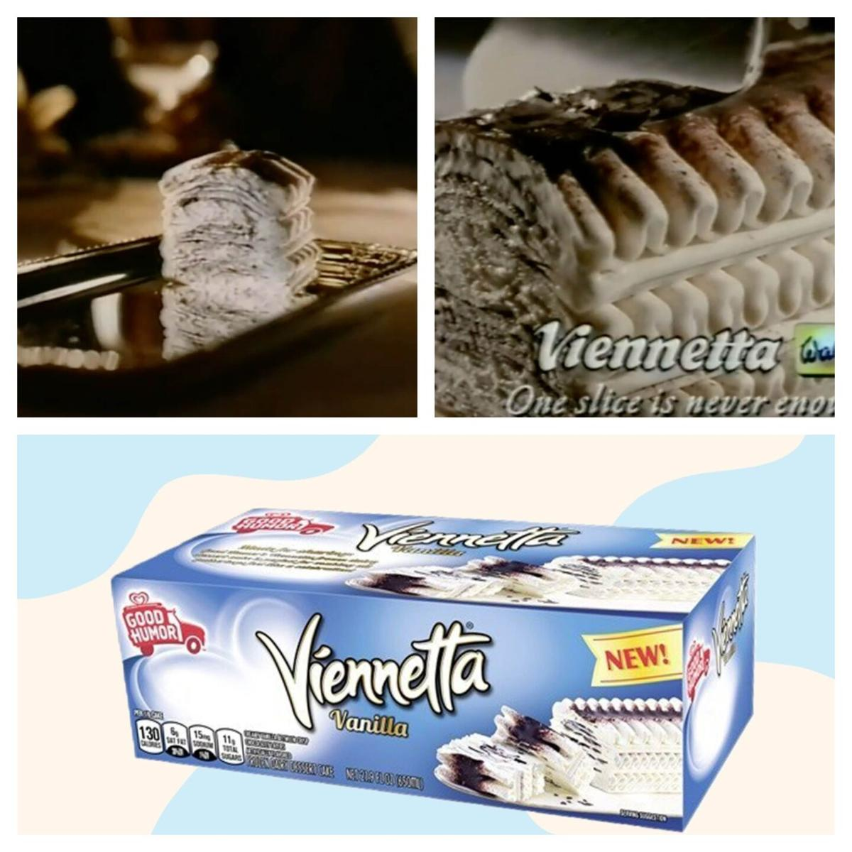 Back in the day, the Viennetta ice cream cake was the epitome of sophistication. Now is making a comeback.