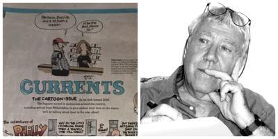 Islander News cartoonist Peter Evans earns national recognition