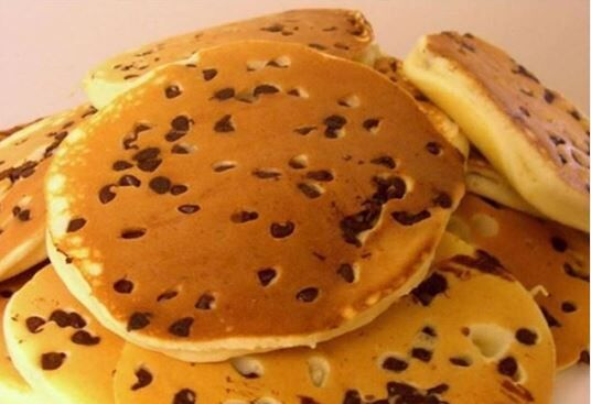 Donut Gallery classic food - Chocochip pancakes.JPG