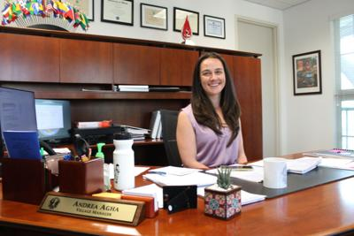 Village of Key Biscayne Manager Andrea Agha