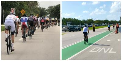 Bike Path coming to Crandon Blvd