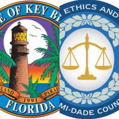 Miami-Dade Ethics Commission and Village of Key Biscayne seal