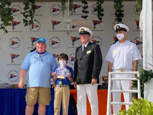 Young Key Biscayne sailor wins Orange Bowl Regatta