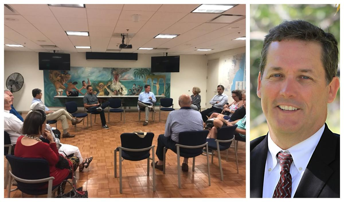 Mayor Davey holds office hours