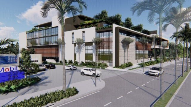 Architect rendering - project Key Biscayne Gateway