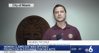 Former City of Miami Solid Waste Department director out after sexual harassment lawsuit is filed