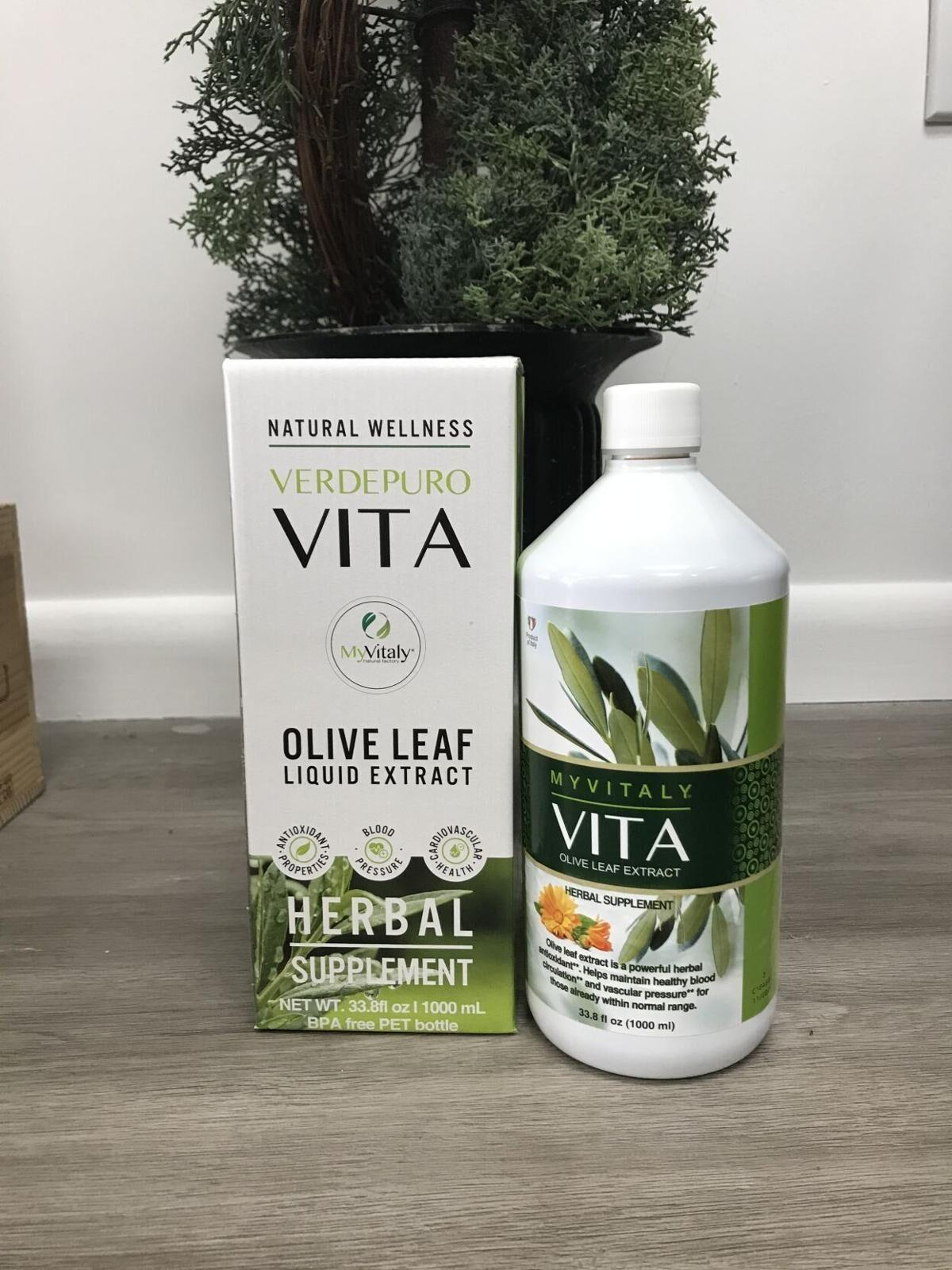 Vita Olive Leaf extract available at Key to Healh