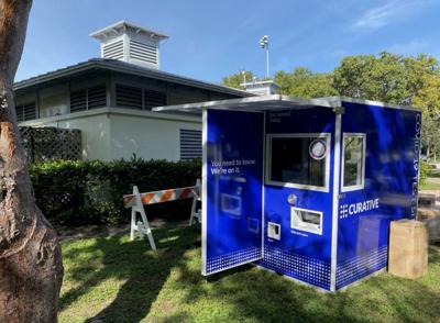 Coming Thursday: COVID-19 testing kiosk on the Village Green