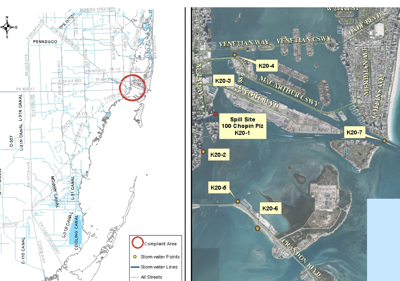 No Swim Advisory Issued due to major sewer spill in Biscayne Bay