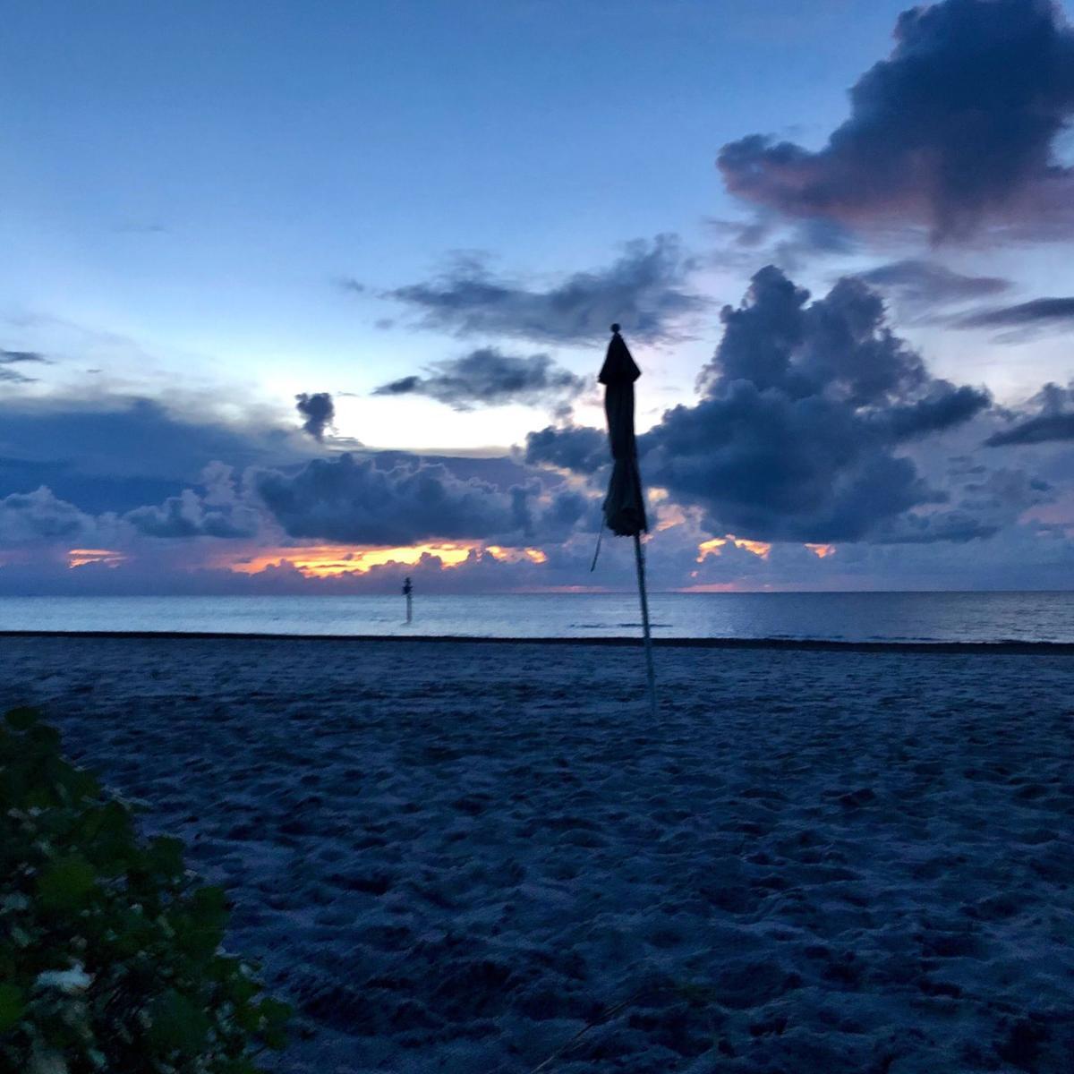 Sunset off Key Colony beach