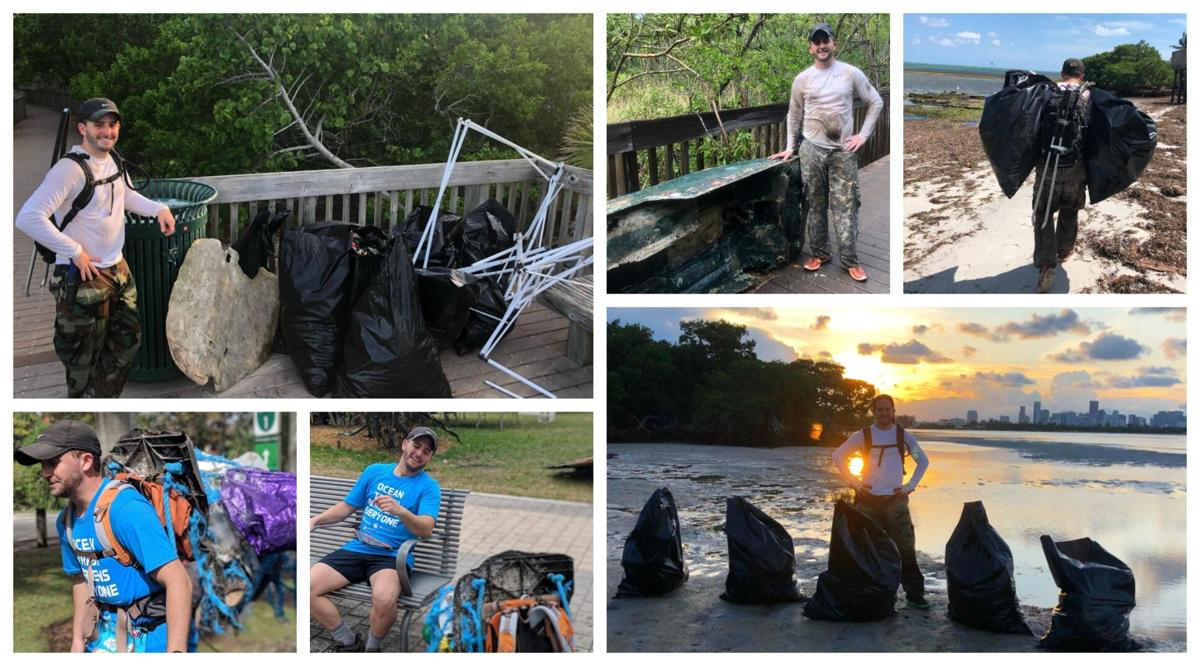 Man on quest to clean up mangroves has collected 5.5 tons of garbage so far; also steps up clean water awareness effort using video and social media