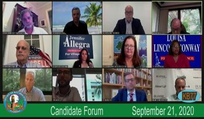 Council candidates spotlight their views on GO bonds and public safety spending