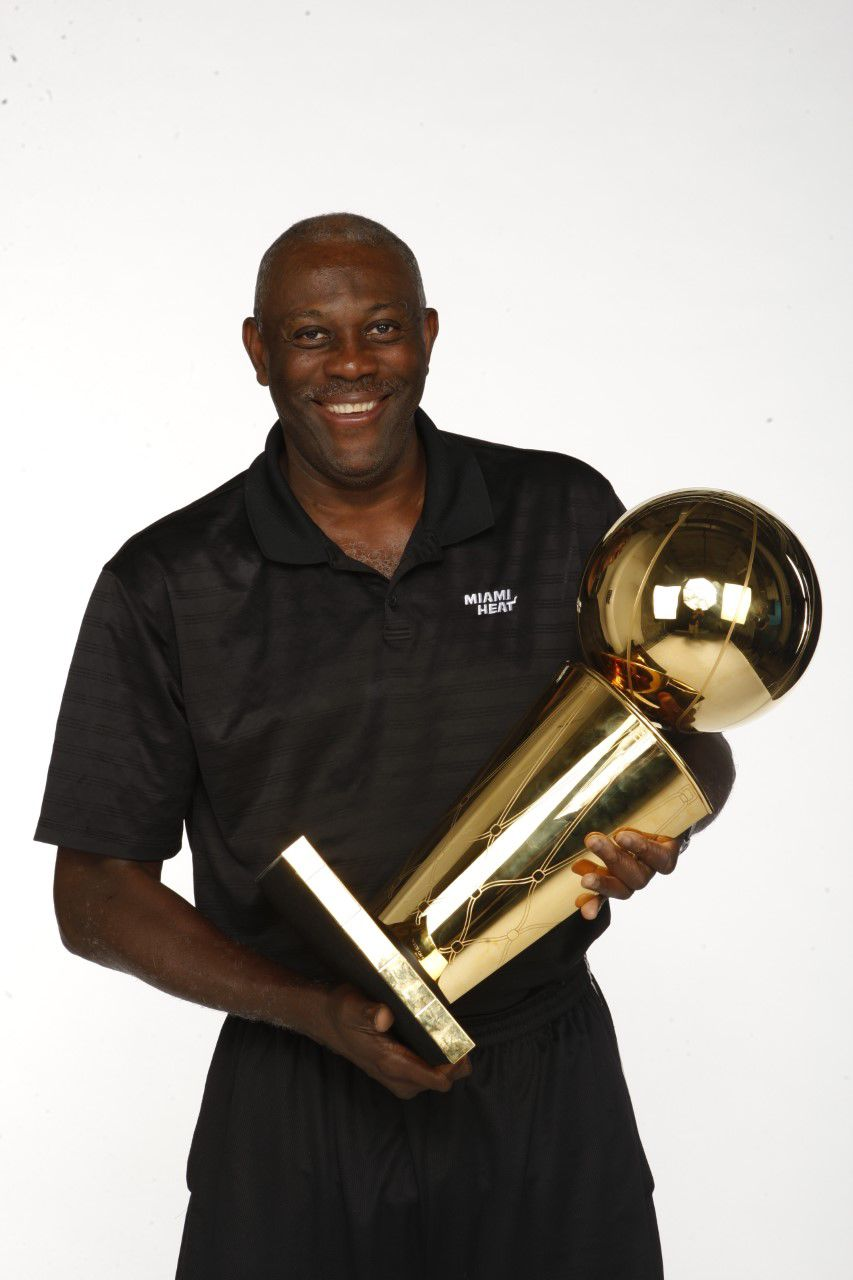 Miami Heat s Bob McAdoo among the fans wowed by Miami Heat tennis