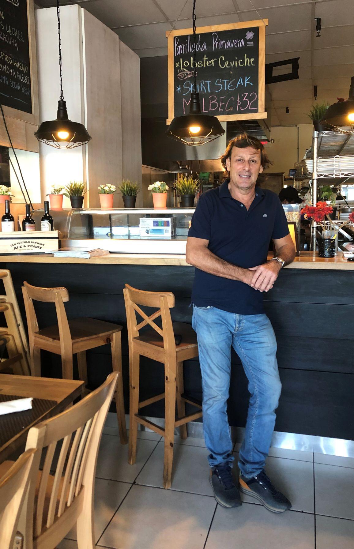 Jose Maria Armesto, Ceviche Bar Key Biscayne