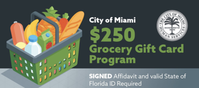 City of Miami to distribute $250 gift cards to residents in need