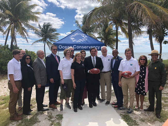 Governor in Key Biscayne