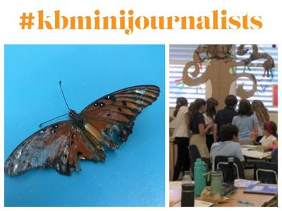 #kbminijournalists butterfly assignment