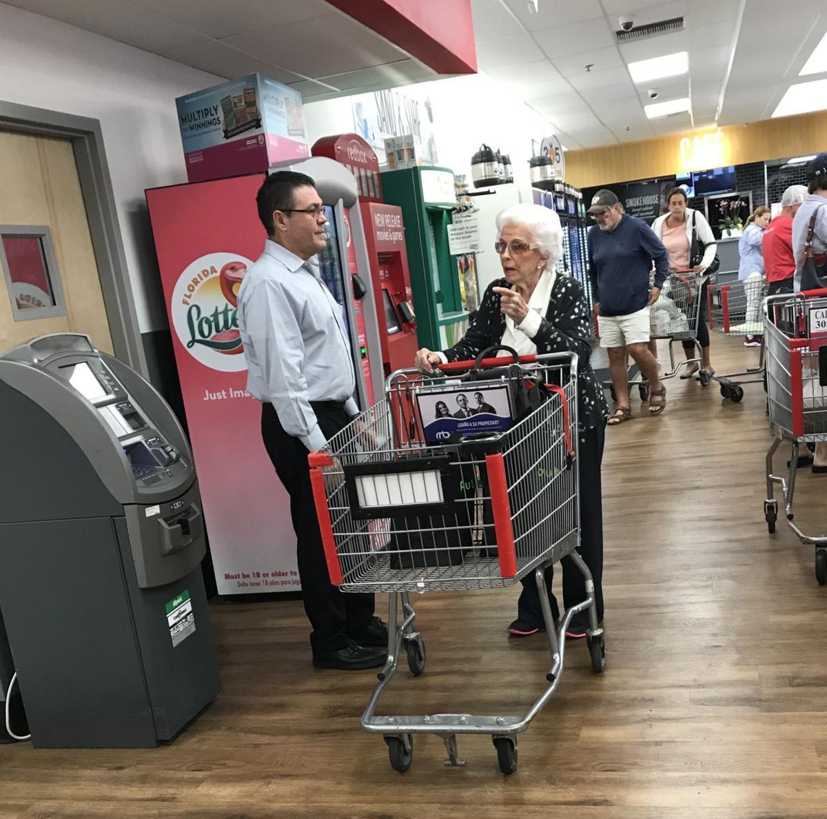 Winn Dixie senior shopping hour