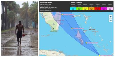 Hurricane Isaias' track shifts west. Tropical Storm Warning issued for Southeast Florida.